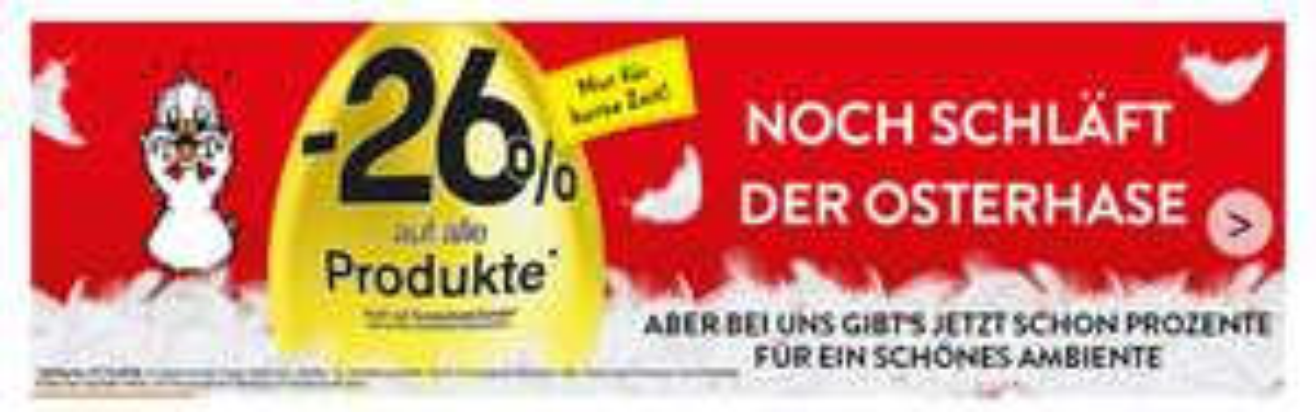 Betten Reiter: -26% auf fast alle Produkte