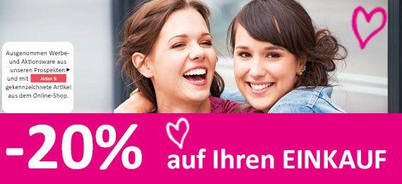 Kika: -20% auf den Einkauf