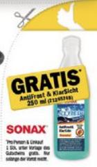 """(Forstinger) GRATIS Sonax """"AntiFrost & Klarsicht"""" Konzentrat (250ml)"""