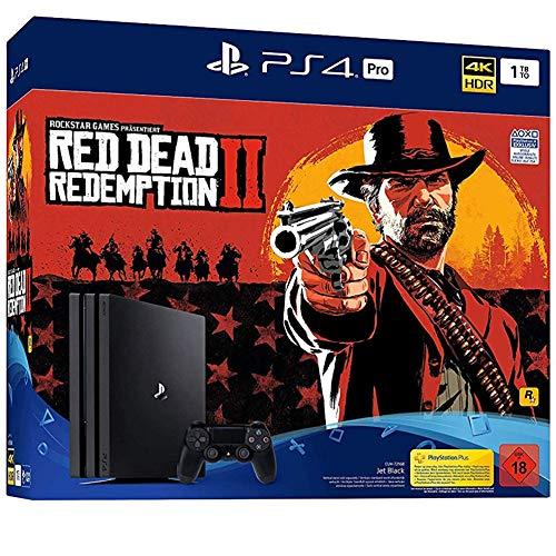 PlayStation 4 Pro - Konsole( 1TB, schwarz) inkl. Red Dead Redemption 2 für 388,99€