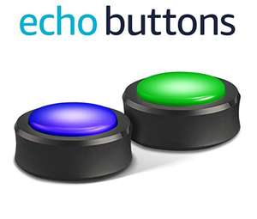Echo Buttons (Alexa Gadget für Gesellschaftsspiele etc)