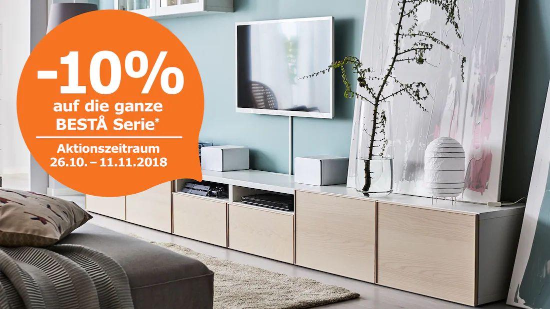 Ikea Family: -10% auf die gesamte Besta-Serie