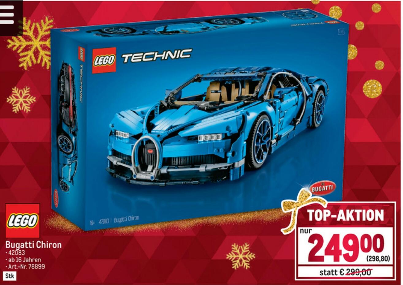 [Metro] Lego Technic Bugatti Chiron um 224€ (Bestpreis !!!)