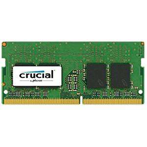 Crucial DDR4 RAM Notebook-Speicher 4 GB, 8 GB od. 16 GB in den Tagesangeboten bei Amazon