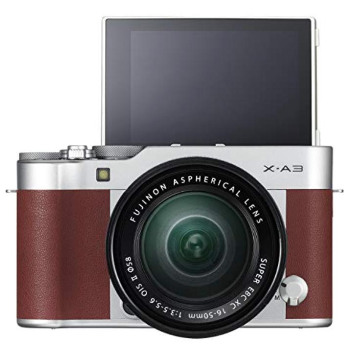 Fujifilm X-A3 Systemkamera inkl. Fujinon XC16-50F3,5-5,6 Objektiv