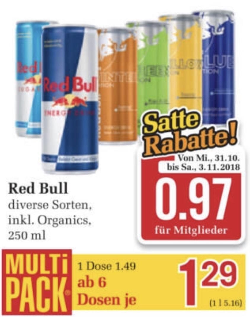 Red Bull ab 6er Träger