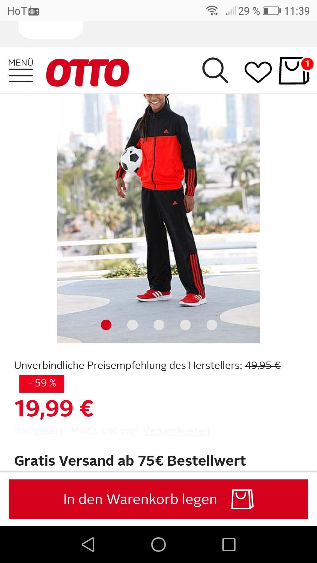 Adidas kinder Trainingsanzug 2 verschiedene Farben inkl Versand