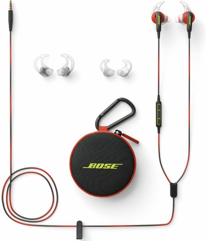 Bose SoundSport In-Ear (Apple) in Rot (Amazon.es) für 54,24€