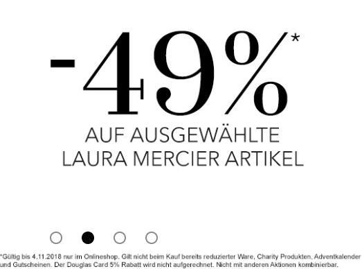 Douglas online: 49% Rabatt auf Laura Mercier Produkte
