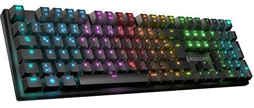 ROCCAT Suora FX RGB Illuminated rahmenlose mechanische Gaming Tastatur (DE-Layout, RGB Tastenbeleuchtung, rahmenlos) für 69,90€
