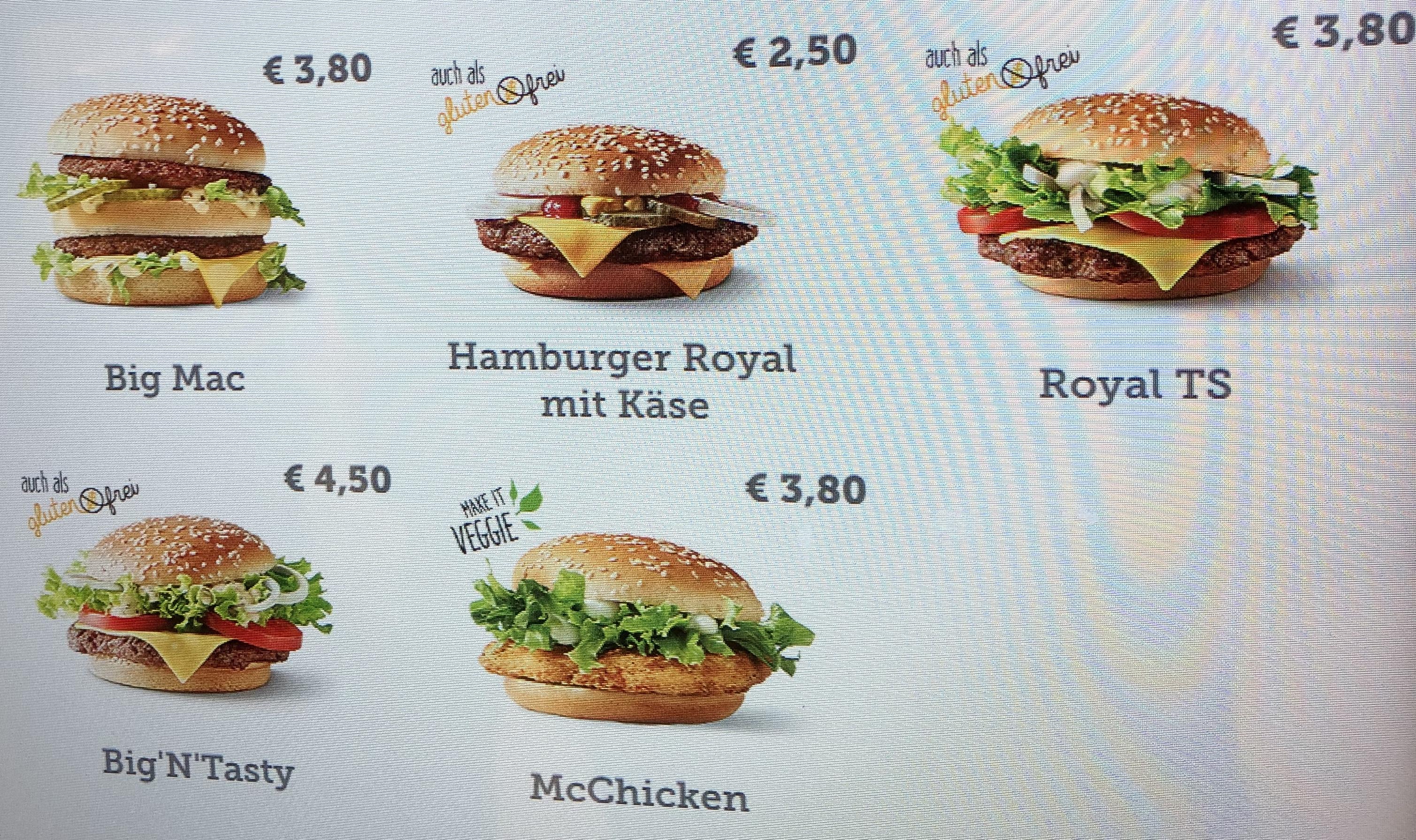 (lokal) McDonald's Wien Karlsplatz - Hamburger Royal