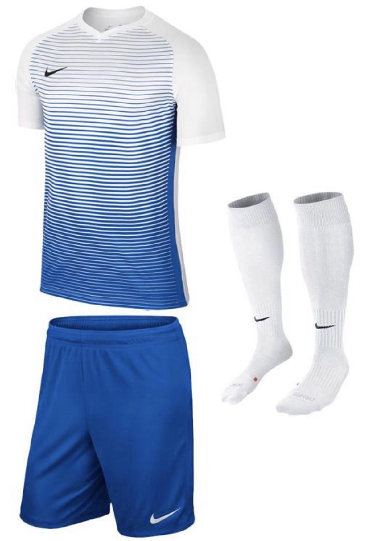 Nike Dressenset Precision in 6 Farbvarianten und GRATIS Flock für 29,95€