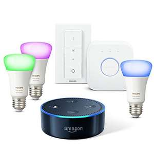 Amazon.de: Echo Dot + Philips Hue Starterset um 139,09€