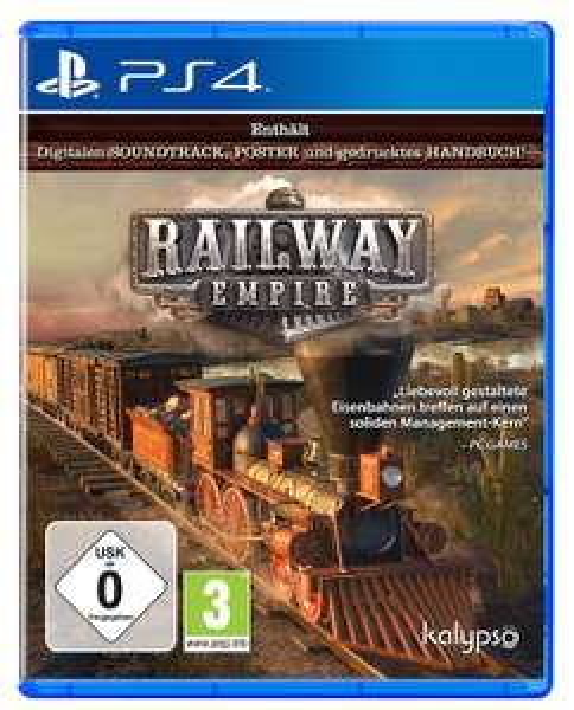 [Libro] Railway Empire PS4 um 14,99€
