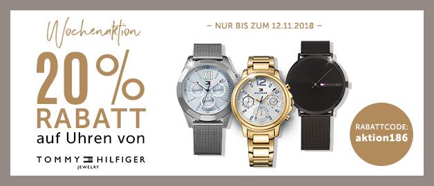 20% Rabatt auf Uhren von Tommy Hilfiger auf CHRIST.at