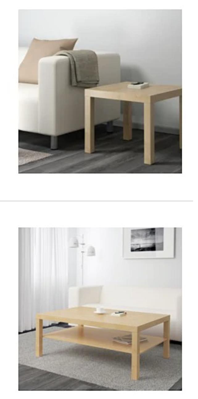 Ikea Wien Nord: Beistelltisch und Couchtisch LACK -50%