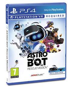 PS4 Astro Bot Rescue Mission PS VR