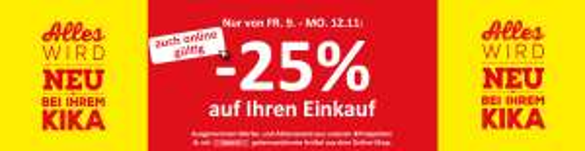 -25% Kika