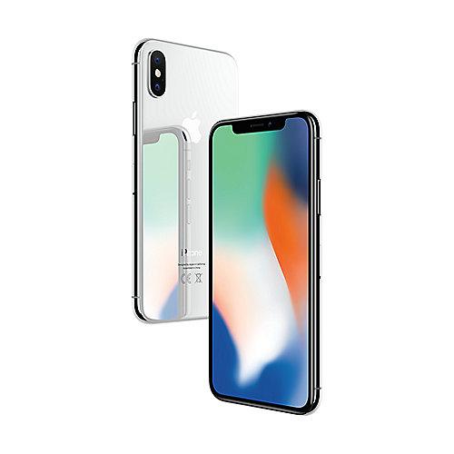 [Cyberport.at] Apple iPhone X 64 GB Silber + Original Silikon Case für 814 Euro