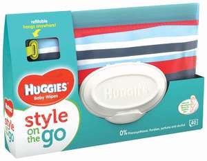 [Amazon] Gratis Huggies Feuchttücher Clutch