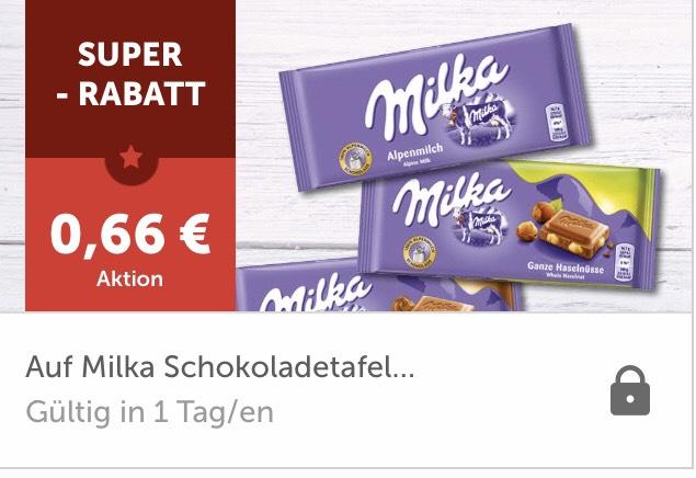 Milka Schokolade zum Bestpreis!
