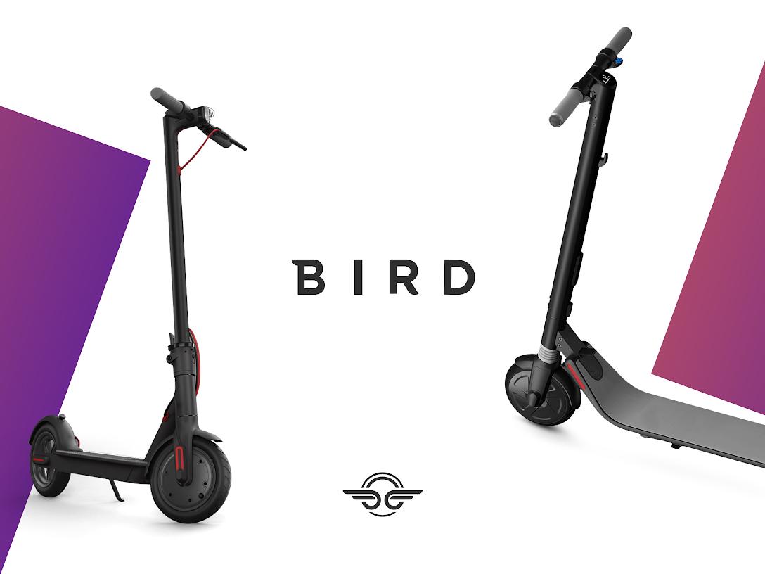 BIRD 5€ Gutschein (für Neu + Bestandskunden) + 5€ Gutschein für Neukunden