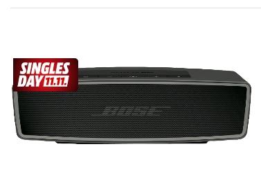 MediaMarkt: Bose Soundlink Mini II (Carbon) für 111€ (mit Masterpass 99€!)