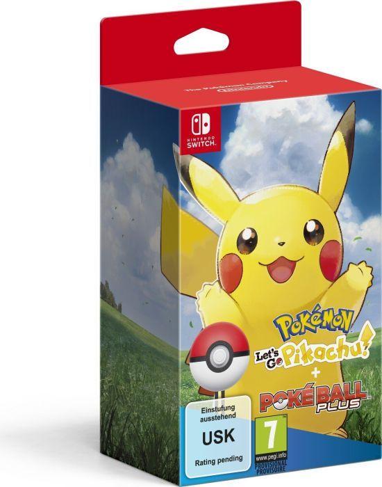 Pokémon: Let's Go - Pikachu! inkl. Pokéball Plus (deutsch) (Switch)