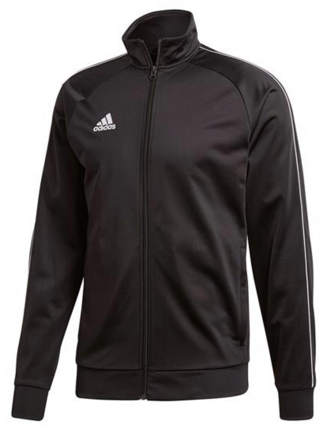 Adidas Trainingsjacke Core 18 4 verschiedene Farben, gratis Versand für 13,95€