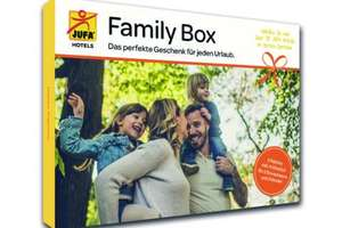 JUFA Family Box - Das perfekte Urlaubsgeschenk