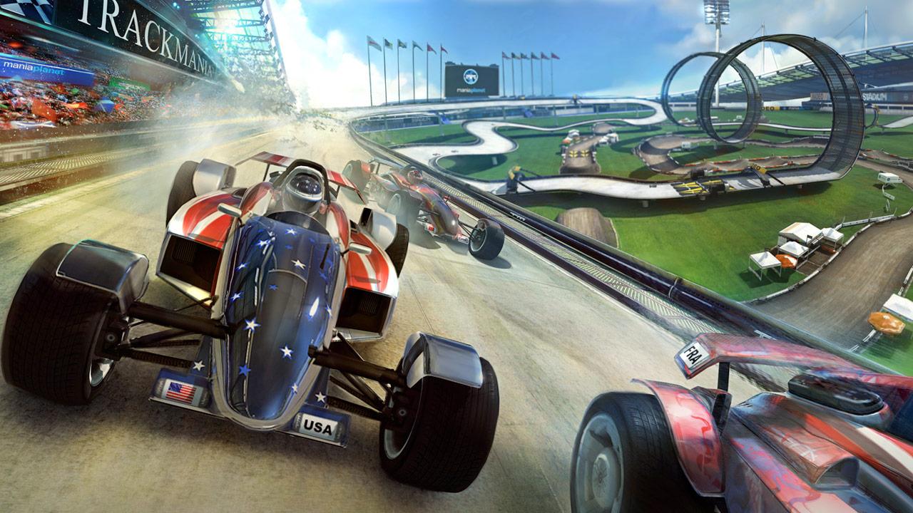 TrackMania Titel um 50% billiger