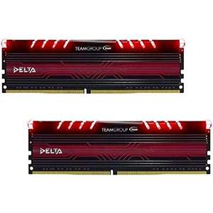 Amazon.fr: TeamGroup Delta LED DIMM Kit, 16GB DDR4 um 117,82€