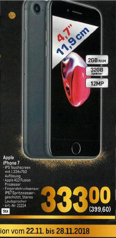 [Metro] iPhone 7 32GB