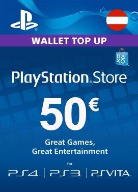 """""""PlayStation Store Guthaben-Aufstockung 50€ (Österreich)"""" Guthaben wieder auf Press-Start verfügbar"""