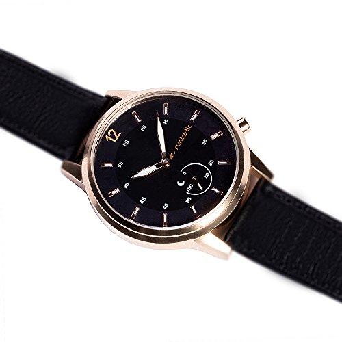 Runtastic Moment CLASSIC Uhr & Aktivitätstracker (mit Lederband)