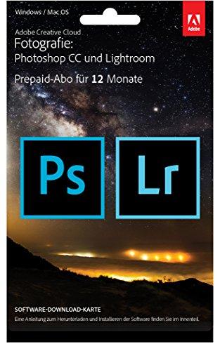 Adobe Creative Cloud Foto-Abo mit 20GB