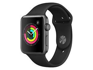 LogoiX: Apple Watch Series 3 (42 mm, Alu)