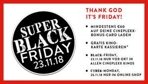 Cineplexx Black-Friday aktion