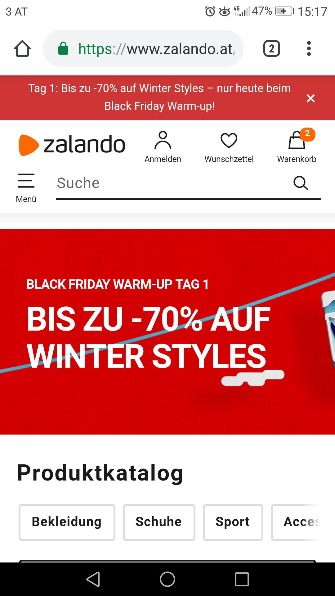 Zalando.at  bis -70% Rabatt