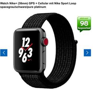 Apple Watch Nike+ (38mm) GPS + Cellular