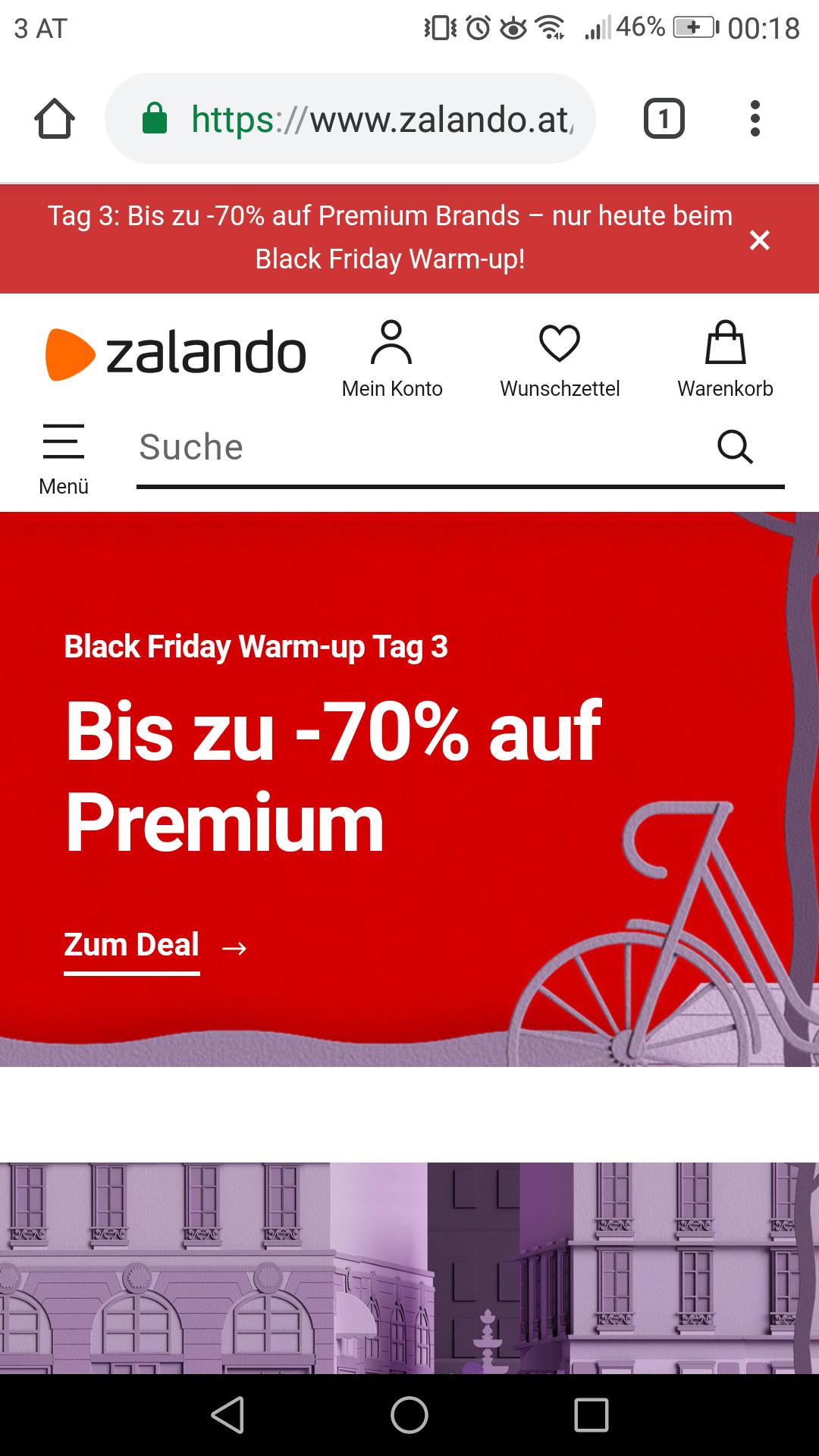 TAG3: Zalando.at bis -70% auf Premium