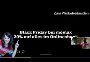 [Mömax] Black Friday -20% auf alles