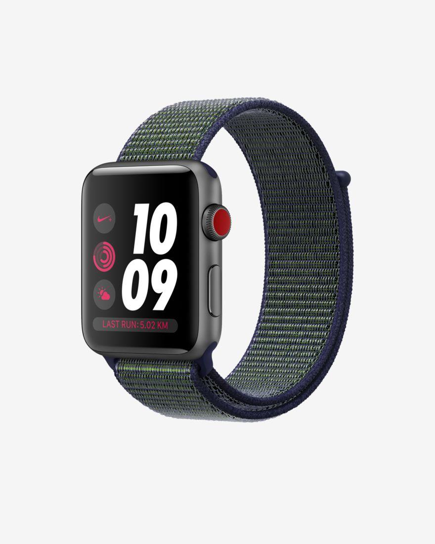 [Nike.com/Logoix] Apple Watch Nike+ Series 3 - Cellular - für 256,41 Euro (38 mm) / 273,21 Euro (42 mm)