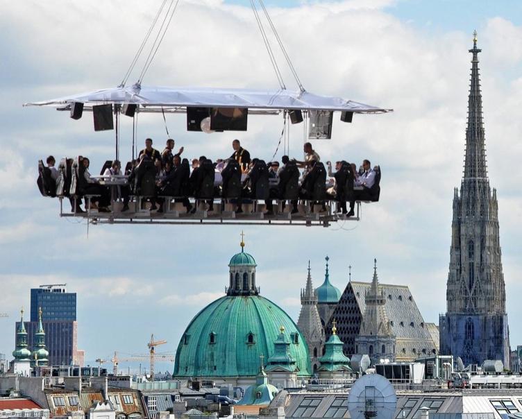 """Jolly Days: """"Brunch"""", """"Lunch"""" oder """"Dinner in the Sky"""" ab 35,40 € - 40% auf Alles"""