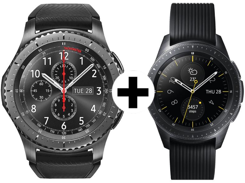 [Media Markt] Samsung Galaxy Watch 42mm + Gear S3 Frontier Bundle