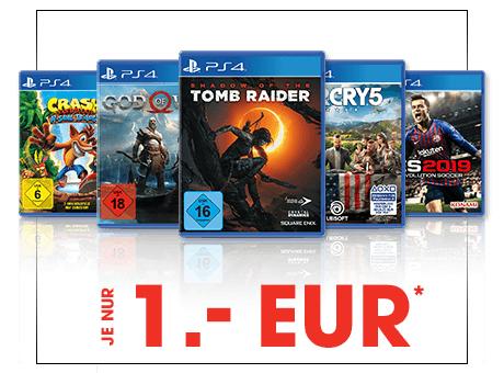 Far Cry 5, Shadow of the Tomb Raider, God Of War, PES 2019, Crash Bandicoot N' Sane Trilogy