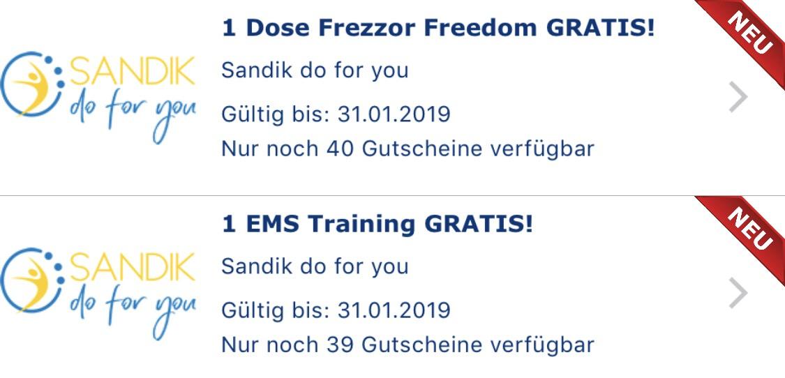 Gutschein.at: EMS Training & Getränk GRATIS