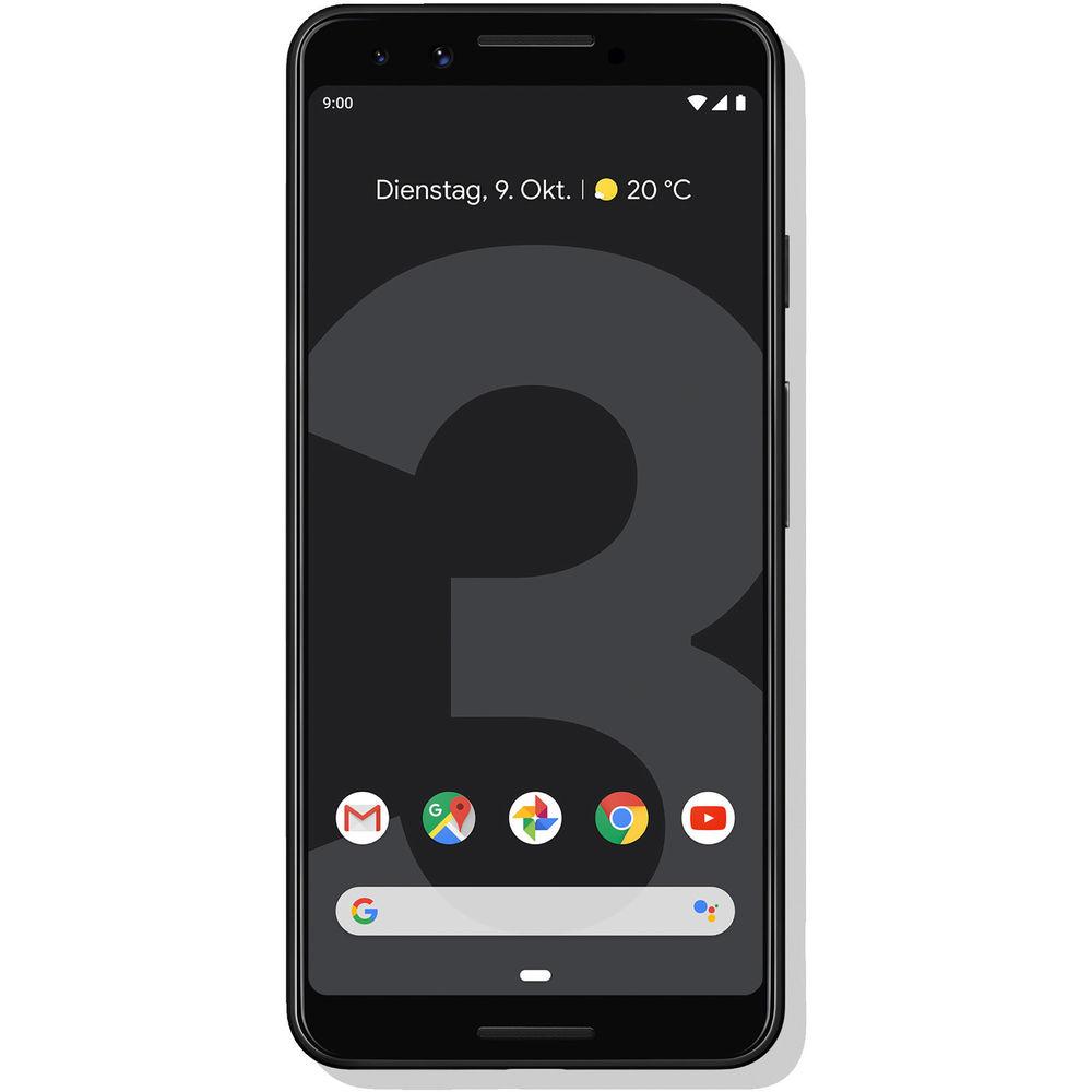 Google Pixel 3 für 596,99; Pixel 3 XL schwarz für 696,99