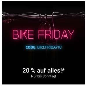 Bike Friday bei Bikester! 20%