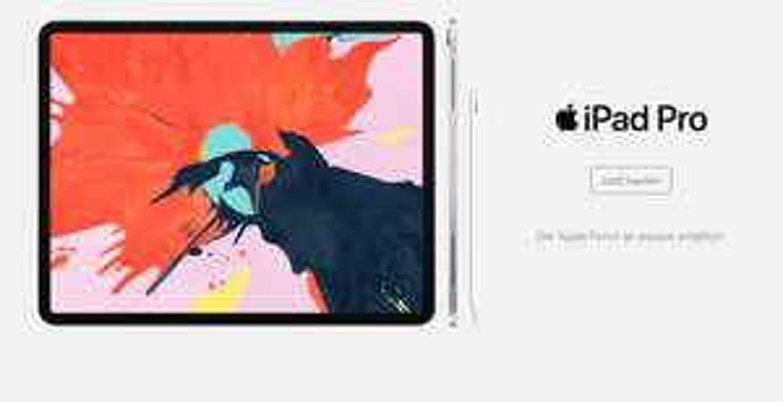 (EDUCATION) iPad Pro (2018) 12,9 Zoll beim McShark Black Weekend für 950,42€
